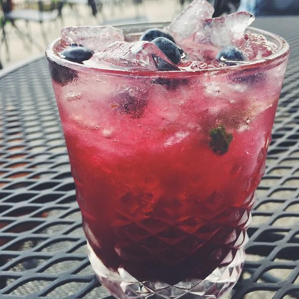 Blueberry mojito @ White Horse Inn METAMORA MI