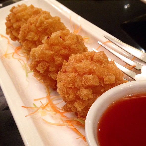 Breaded Shrimp Balls With Mozzarella