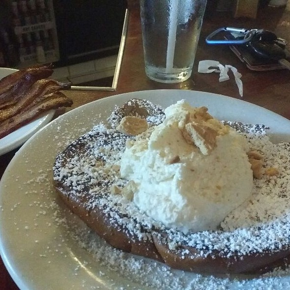 Peanut Hubba French Toast