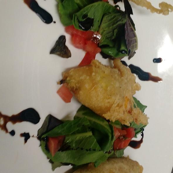 Zucchini Blossoms - Peppercorns Grill, Hartford, CT