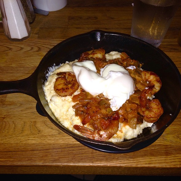 Pork Bacon-Creole Shrimp And Grits