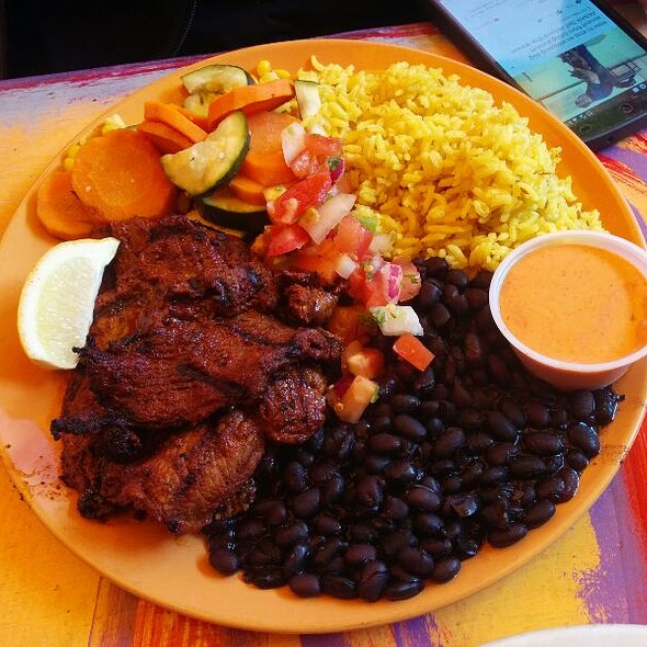 Grilled Jerk Steak At Primo Patio Cafe