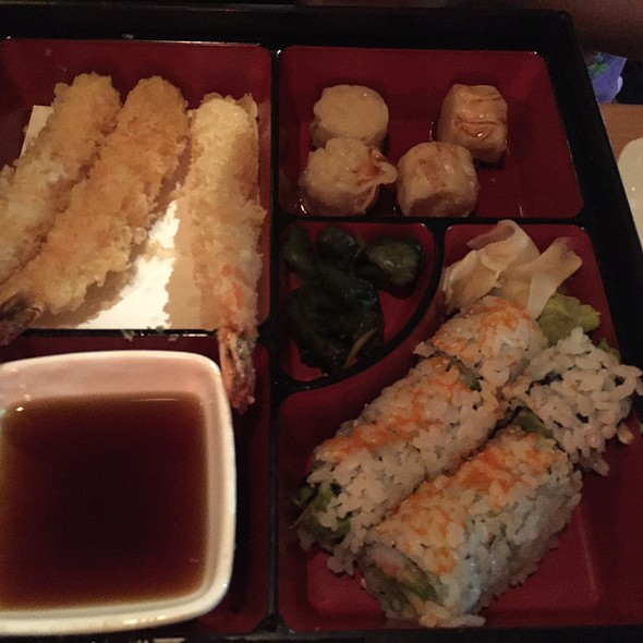 Shrimp Tempura Bento Box @ Ko Sushi