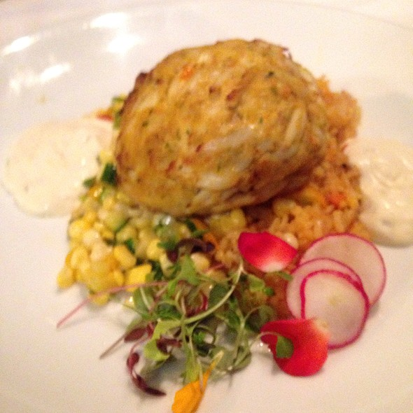 Free Form Crab Cake @ Left Bank Restaurant & Bar