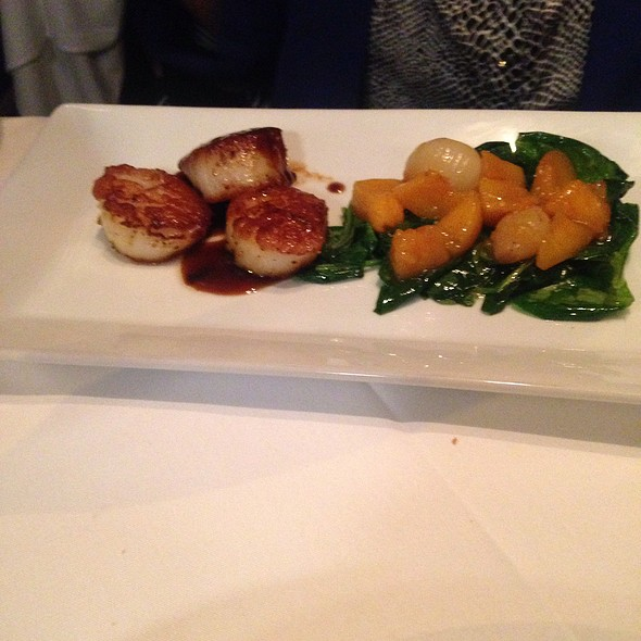 Foie Gras And Seared Scallop @ Left Bank Restaurant & Bar