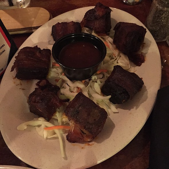 Bacon Wrapped Burnt Ends - Hot Rods BBQ, Wharton, NJ