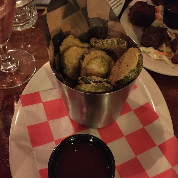 Fried Pickles - Hot Rods BBQ, Wharton, NJ
