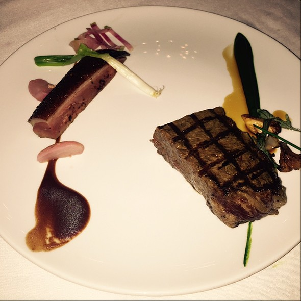 Wagyu & Muscovy Duck @ Canlis