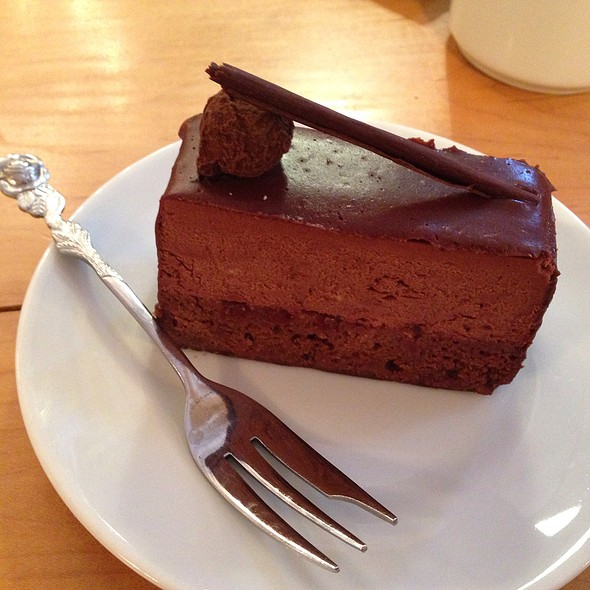 Chocolate Mousse Cake @ L. A. Burdick Chocolate