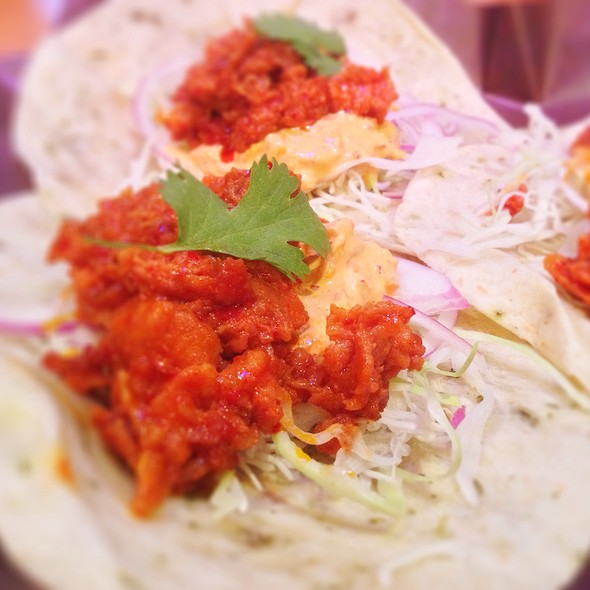 Spicy Pork Tacos @ Han Ba Tang
