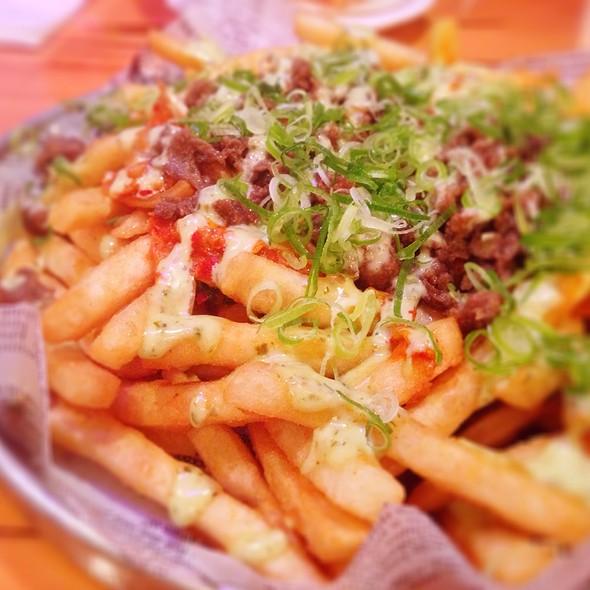 Kimchi Fries With Bulgogi @ Han Ba Tang