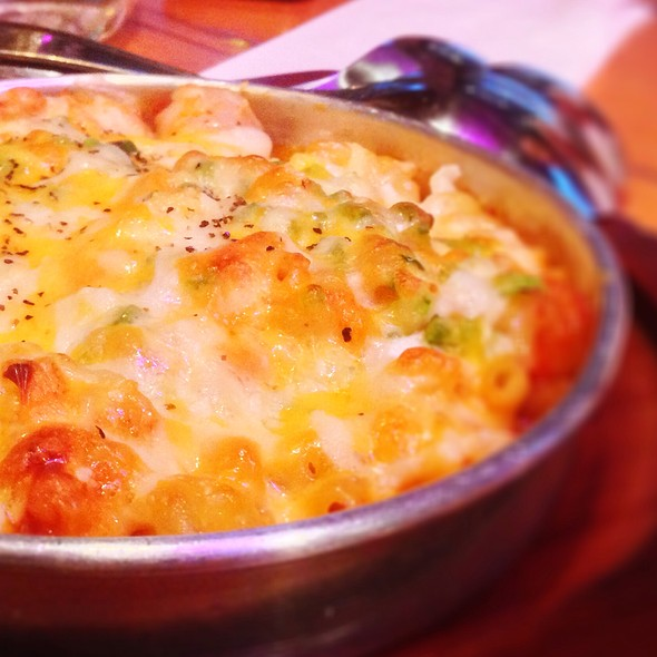 Korean Kimchi Mac & Cheese  @ Han Ba Tang