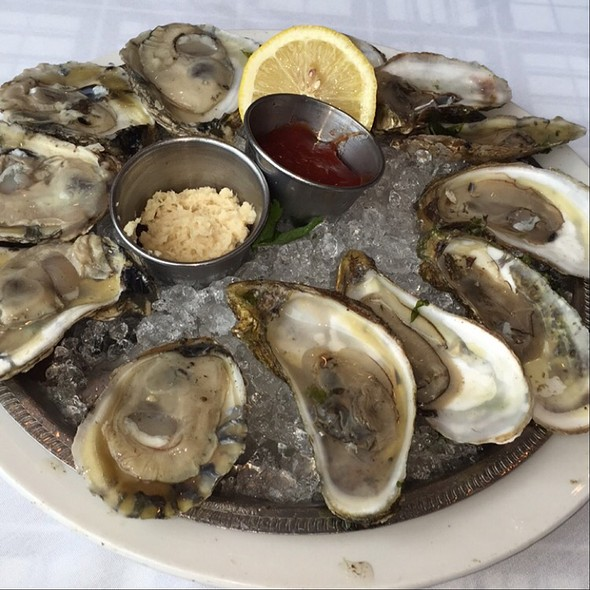 Oysters on the Half Shell @ Riva Navy Pier