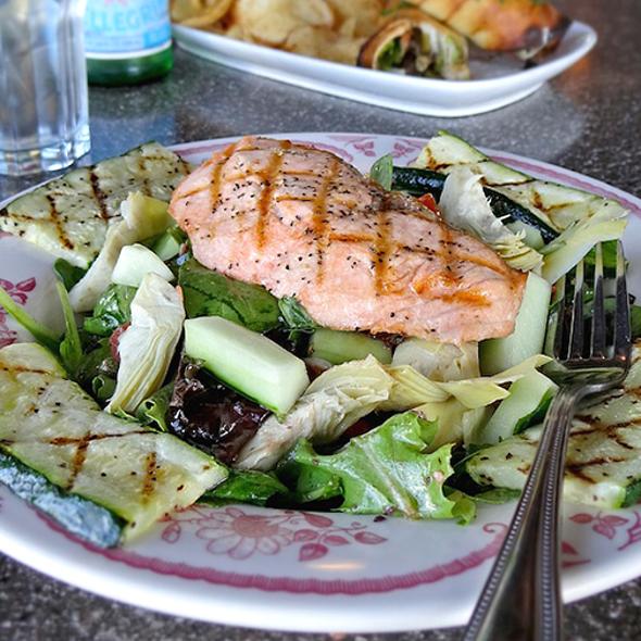 Grilled Salmon Salad - Mama Ricotta's, Charlotte, NC