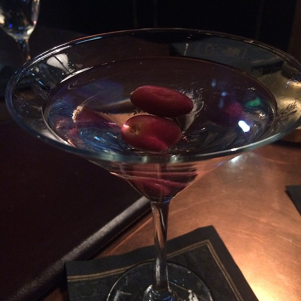 Martha's Vineyard Martini - The Chop House - Ann Arbor, Ann Arbor, MI