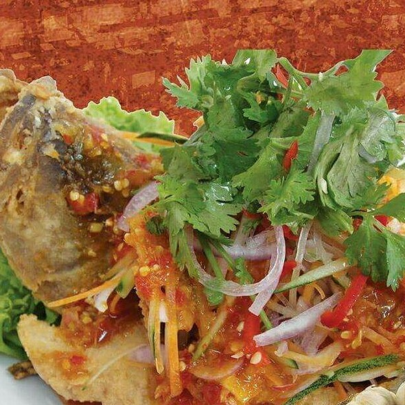 Deep Fried Fish With Thai Style Sauce