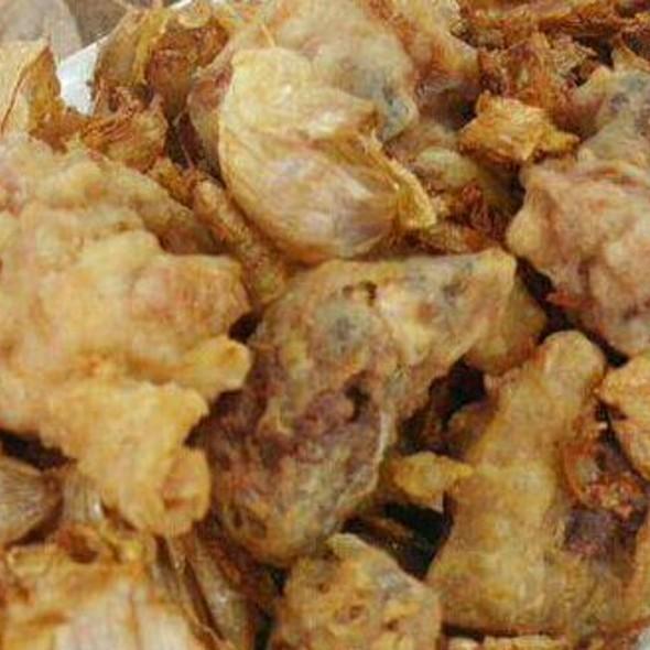 Fried Chicken W/ Garlic