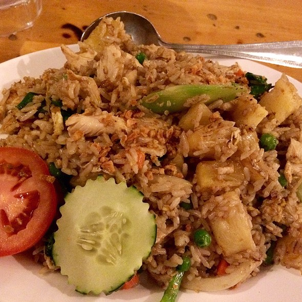 Salted Fish Fried Rice At Thai Patio Hollywood