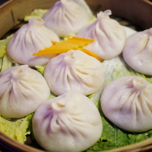 Pork and Crabmeat Soup Dumplings @ Shanghai Cafe Deluxe