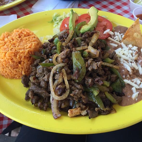 Steak Fajitas @ El Taco H