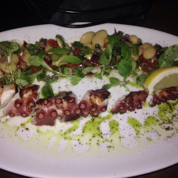Char-grilled Spanish Octopus - Pera Mediterranean Brasserie, New York, NY