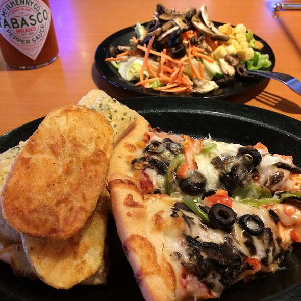 All You Can Eat Buffet @ Shakey's Pizza Parlor