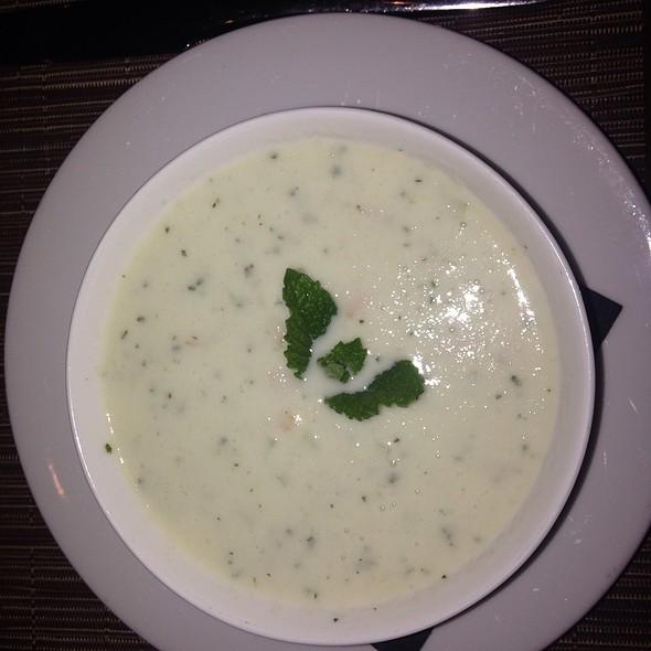 Cucumber Yogurt Soup - Pera Mediterranean Brasserie, New York, NY