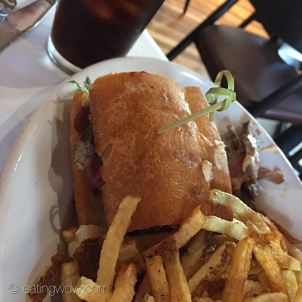Steak Sandwich @ The Boathouse