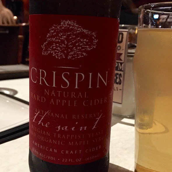Crispin Cider - Meddlesome Moth, Dallas, TX