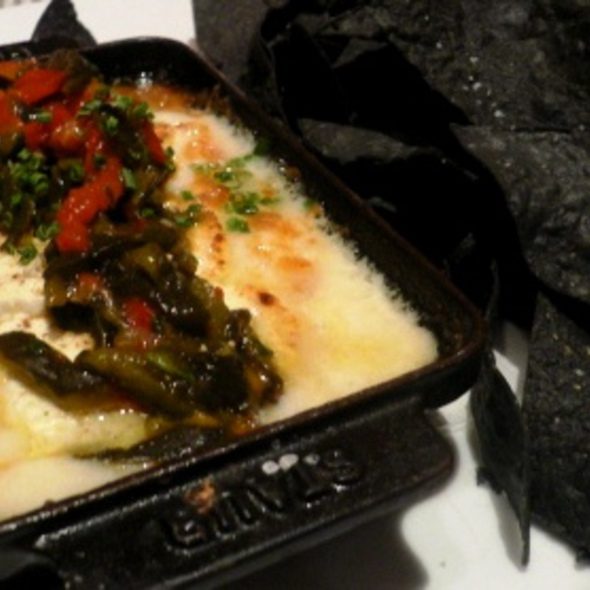 Goat Cheese Queso Fundido @ Mesa Grill