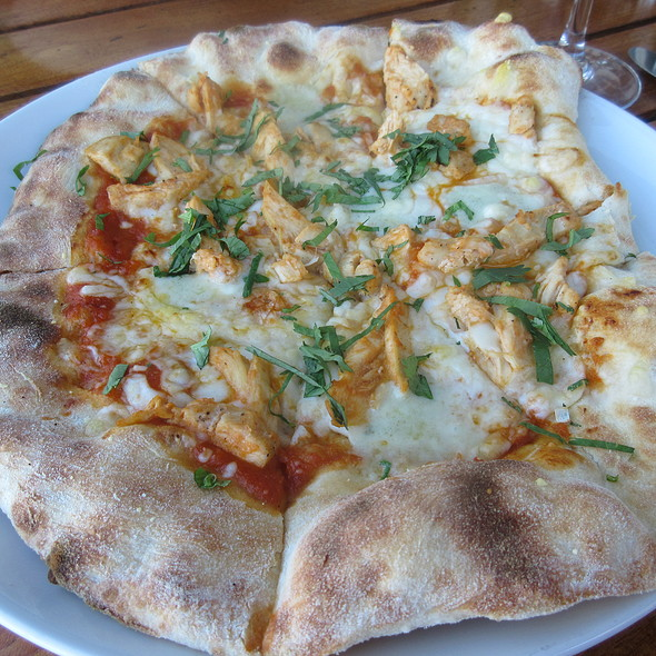 BBQ Chicken Pizza @ The Plant Cafe Organic