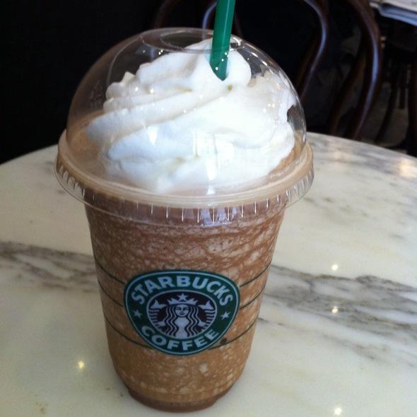 Mocha Frappuccino @ Starbucks Causeway Bay