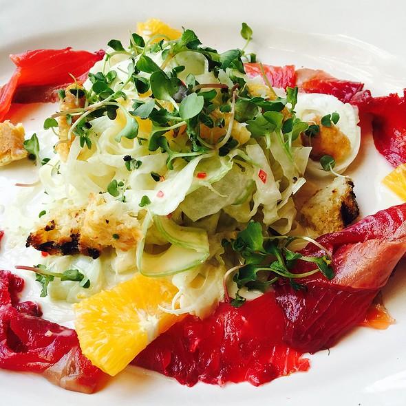 Salmon  Salad @ Jamie's Italian