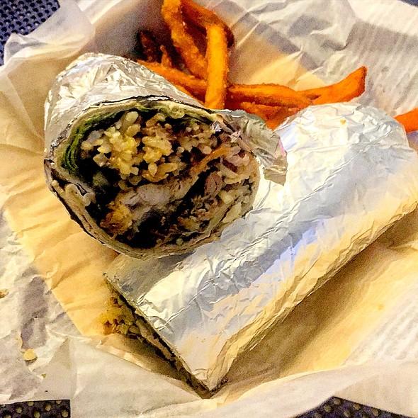 Pulled Pork Burrito @ The Fish Market