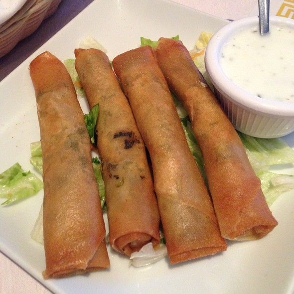 spinach borek @ Istanbul Grill