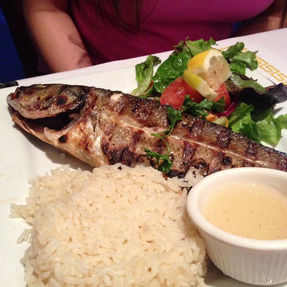 Grilled Branzino @ Istanbul Grill