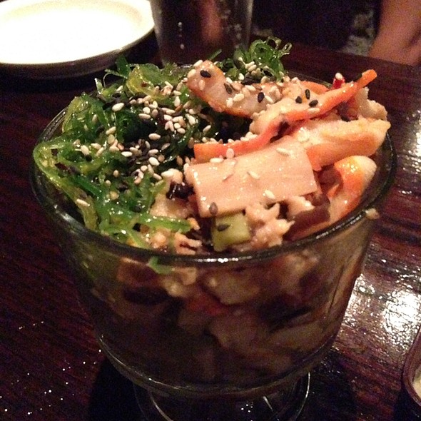 Seaweed And Squid Salad @ Sushi Domo