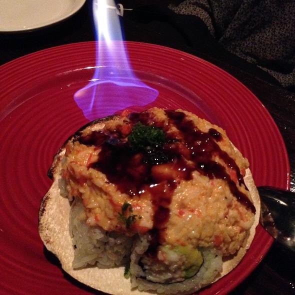 Volcano Roll @ Sushi Domo