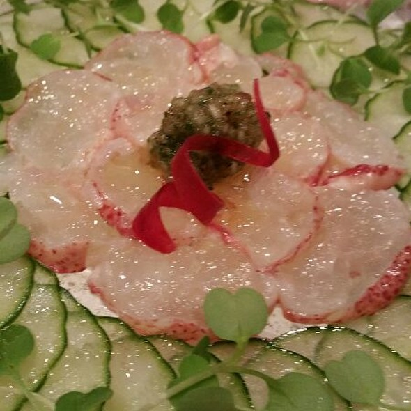 lobster carpaccio @ Tomo Japanese Restaurant