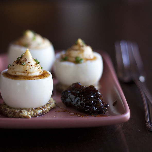 Deviled Eggs - Saltrock Southwest Kitchen, Sedona, AZ