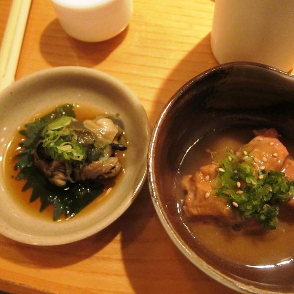 Monkfish Liver @ Sushi Sasabune