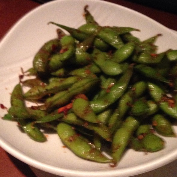 Hot And Spicy Edamame