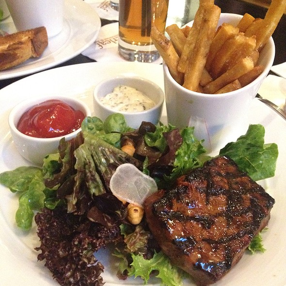 Steak-Frites - Copperleaf Restaurant at Cedarbrook Lodge, Seattle, WA