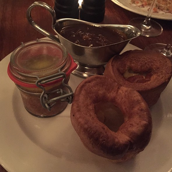 Potted Beef With Yorkshires And Onion Gravy