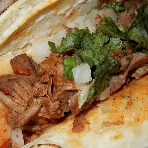 Tacos De Carne Adobada @ Tacos Los Altos