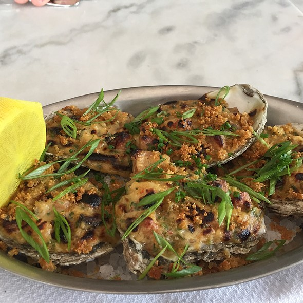 Oysters Bienville