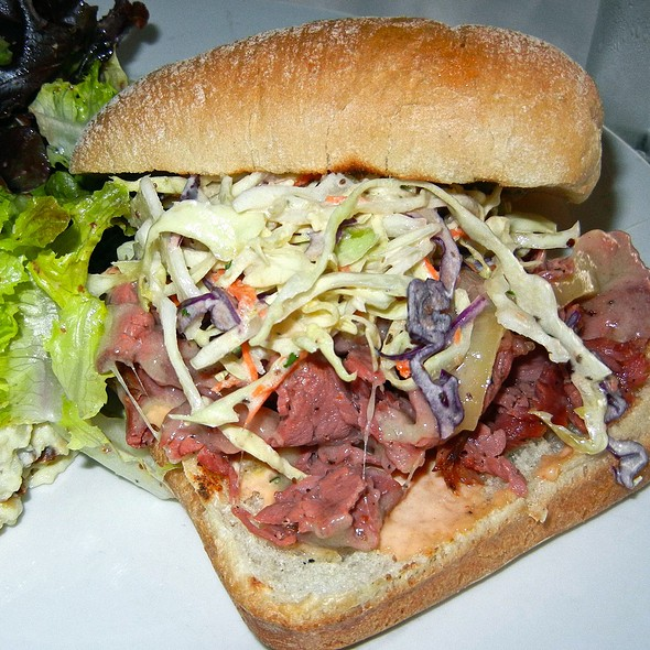 Pastrami Sandwich @ Tinderbox Kitchen