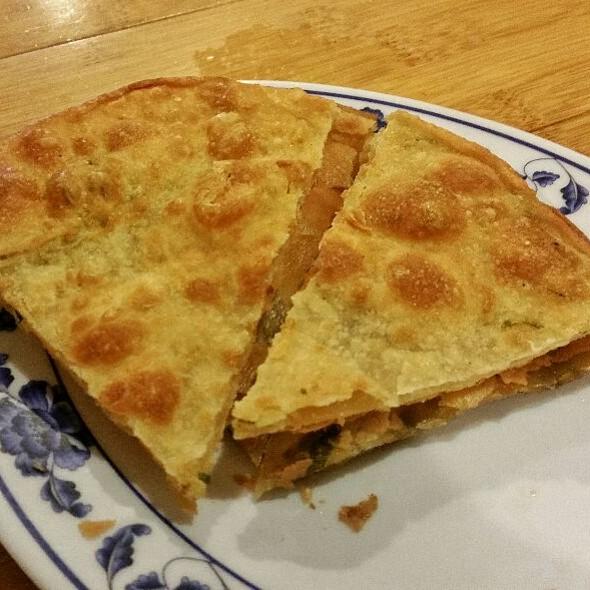 Scallion Pancakes @ Taiwan Noodle