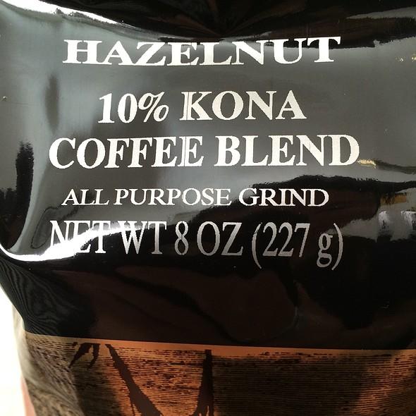 Hazelnut Coffee @ Hawaii Coffee Company