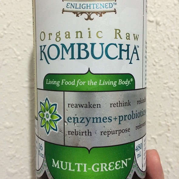 Gt's Organic Raw Kombucha Multi-Green @ Down To Earth All VEGETARIAN Organic & Natural